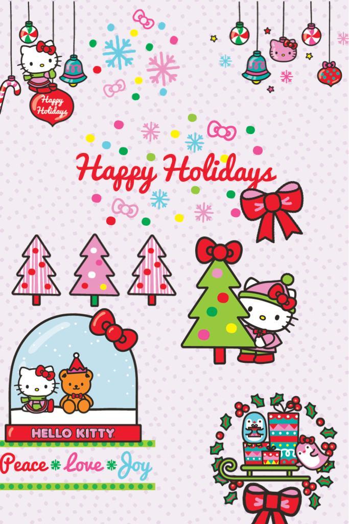Happy Holidays from Hello Kitty!