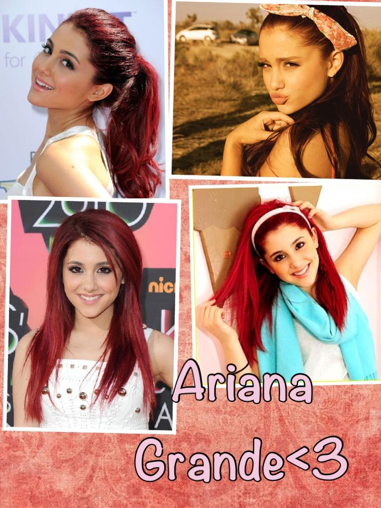My idol , @arianagrande